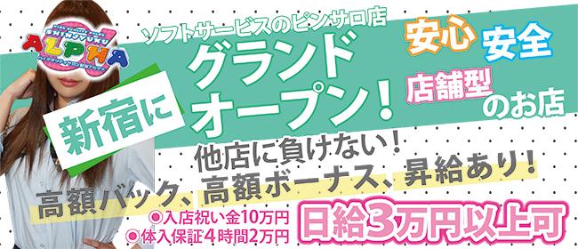 アルファ(新宿・歌舞伎町ピンサロ店)の風俗求人・高収入バイト求人PR画像2