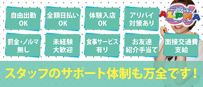 アルファ(新宿・歌舞伎町ピンサロ店)の風俗求人・高収入バイト求人PR画像3
