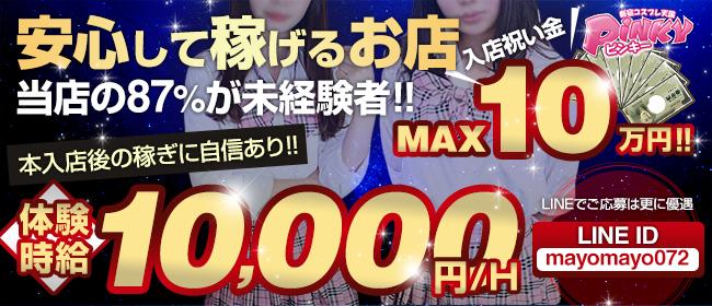新宿ピンキー(新宿・歌舞伎町ピンサロ店)の風俗求人・高収入バイト求人PR画像2