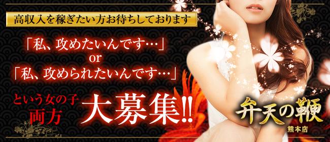 出張SMデリヘル&M性感「弁天の鞭 熊本店」(熊本市内)のデリヘル求人・高収入バイトPR画像1