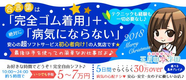 五反田女学園(五反田ホテヘル店)の風俗求人・高収入バイト求人PR画像2