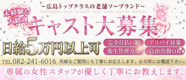 石庭別館(広島市内ソープ店)の風俗求人・高収入バイト求人PR画像1