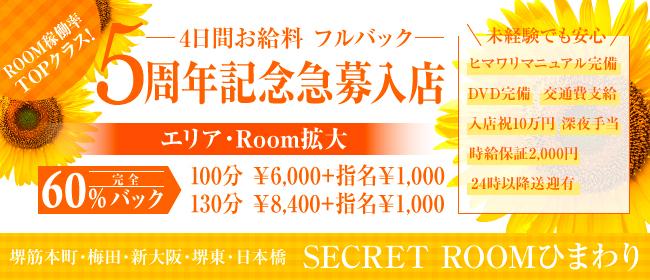 シークレットルームヒマワリ - 本町・堺筋本町