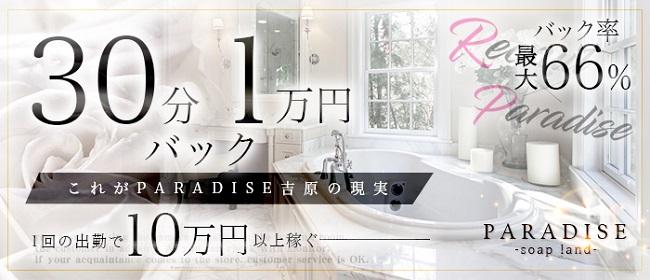 PARADISE(吉原ソープ店)の風俗求人・高収入バイト求人PR画像1