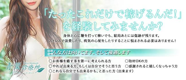 青葉診療所(新橋・汐留ホテヘル店)の風俗求人・高収入バイト求人PR画像1