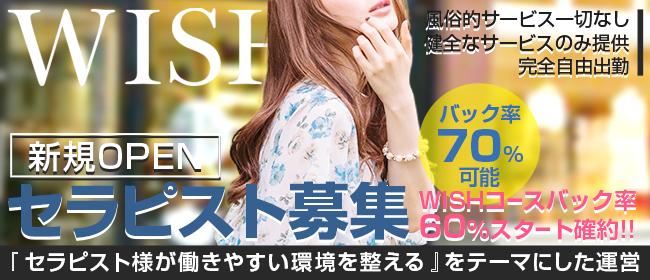 Wish(春日井・一宮・小牧)の一般メンズエステ(店舗型)求人・高収入バイトPR画像1