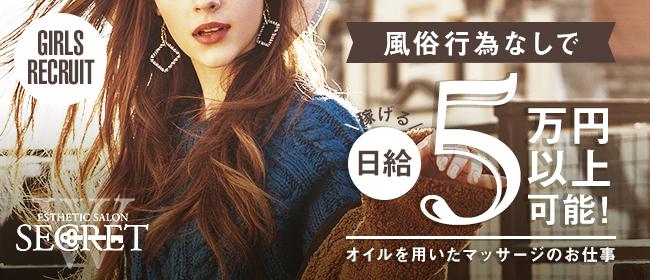 W SECRET(本町・堺筋本町)の一般メンズエステ(店舗型)求人・高収入バイトPR画像1