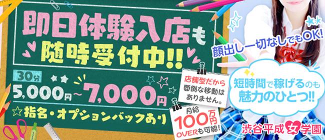 渋谷平成女学園(渋谷)の店舗型ヘルス求人・高収入バイトPR画像2