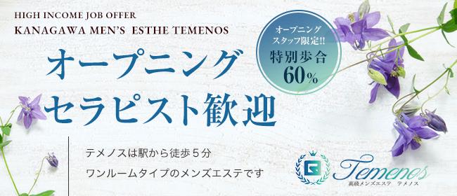 TEMENOS テメノス(戸塚)の一般メンズエステ(店舗型)求人・高収入バイトPR画像1