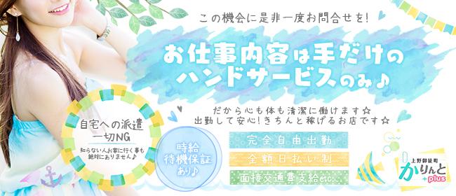 かりんとplus 上野御徒町(上野・浅草)のデリヘル求人・高収入バイトPR画像1