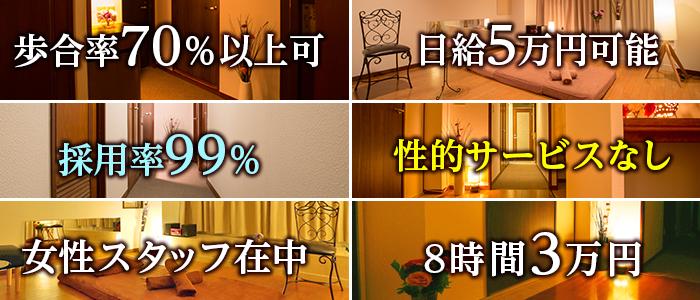 五反田Rise~リゼ~(五反田)の一般メンズエステ(店舗型)求人・高収入バイトPR画像2