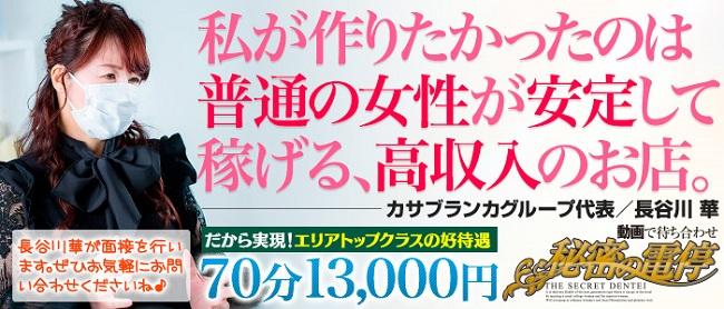 秘密の電停 岡山店(岡山市内デリヘル店)の風俗求人・高収入バイト求人PR画像1
