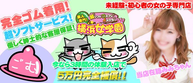 ちぇっくいん横浜女学園(横浜ホテヘル店)の風俗求人・高収入バイト求人PR画像1