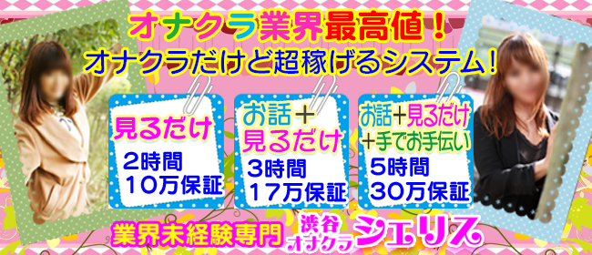 シェリス(渋谷デリヘル店)の風俗求人・高収入バイト求人PR画像2