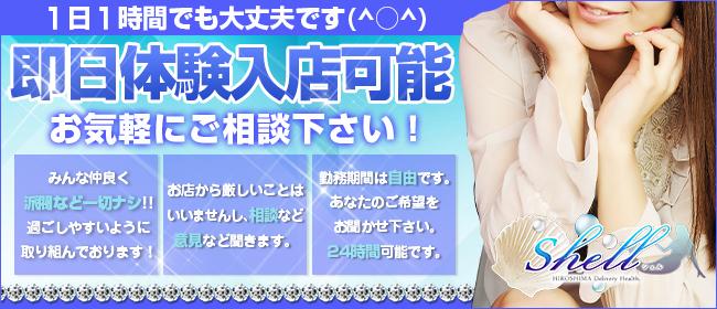 shell☆シェル(広島市内デリヘル店)の風俗求人・高収入バイト求人PR画像2
