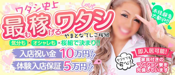 やまとなでしこ桜組(西川口ソープ店)の風俗求人・高収入バイト求人PR画像2