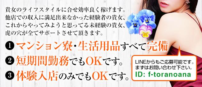 CLUB 虎の穴 福岡(福岡市・博多デリヘル店)の風俗求人・高収入バイト求人PR画像3