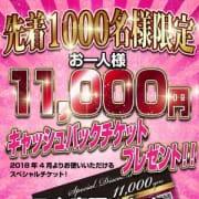 「先着1000名様11000円キャッシュバック」03/22(木) 10:19 | 宇都宮人妻花壇のお得なニュース