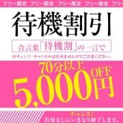 ★灼熱待機割引★    フリーのお客様限定で 5,000円割引!!|プロフィール倉敷