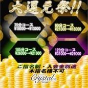 「★大還元祭★」12/07(金) 21:52 | 神戸デリヘルクリスタルのお得なニュース