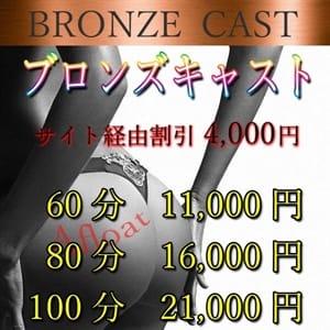Bronzeキャスト