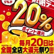 「ポイント還元EVENT!!YESファン感謝DAY☆ポイント大還元祭り!!」12/09(日) 13:02 | YESグループ PLATINA R-30のお得なニュース