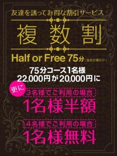 複数割 -Half or Free-|川崎武蔵小杉プリズムバリュー - 川崎風俗