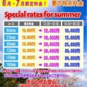 6月・7月限定料金|PEACH PIE-ピーチパイ- - 松戸・新松戸風俗