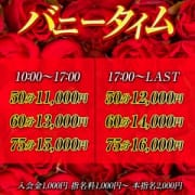 「バニータイム【50分11,000円~】」05/24(木) 22:05   ドMなバニーちゃん徳島店のお得なニュース