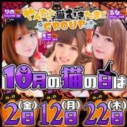 「グループ全店合同イベント【猫の日」10/23(金) 13:02 | にゃんこspa 天王寺のお得なニュース