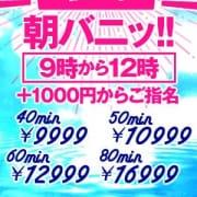 「ススキノの朝の挨拶は!《朝バニ!》」11/14(水) 11:48 | ドMなバニーちゃん すすきの店のお得なニュース