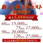 「 ★新人・体入キャスト限定割引★」01/08(水) 17:27 | Sexy Graffitiのお得なニュース