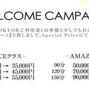 「※他キャンペーンとの併用は出来ません。 ※指名料、交通費は別途頂戴致します」07/15(日) 13:07 | ~逢~TOKYOのお得なニュース
