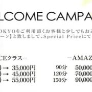 「※他キャンペーンとの併用は出来ません。 ※指名料、交通費は別途頂戴致します」08/18(土) 12:07 | ~逢~TOKYOのお得なニュース