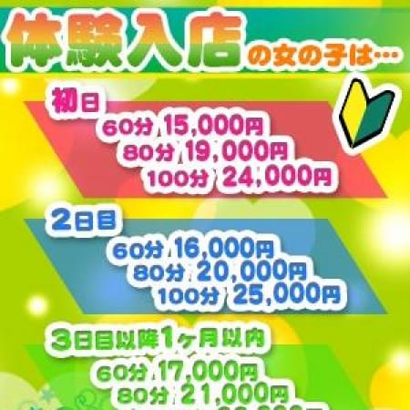 「体験入店割引実施中♪」01/21(日) 02:31 | COCO幕張店のお得なニュース