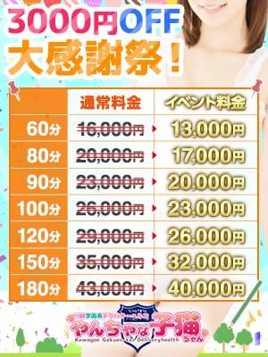 全コース3000円引き|やんちゃな子猫ちゃん - 川越風俗