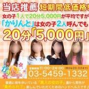「店舗紹介」06/24(日) 22:00   かりんと渋谷のお得なニュース