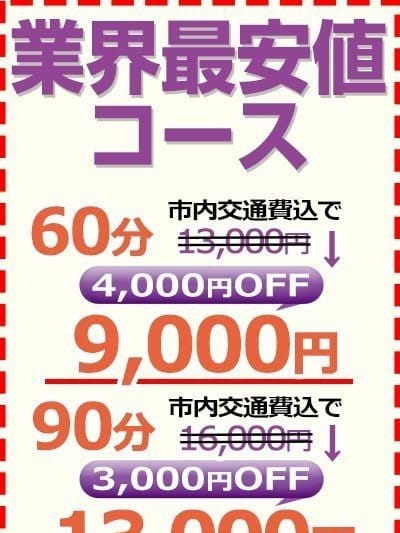 業界最安値コース【90分でお得に遊ぶ!!!】
