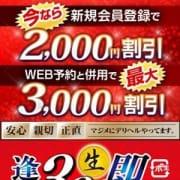 「◆最大3000円割引◆ 」11/13(火) 11:13 | 逢って30秒で即尺 京都店のお得なニュース