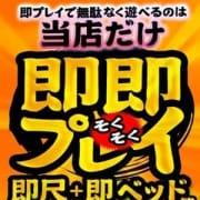 「大人気オプション★即即プレイ★」11/16(金) 00:23 | 逢って30秒で即尺 京都店のお得なニュース