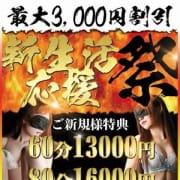 新生活スタート記念!60分コース13000円~|即イキ淫乱倶楽部