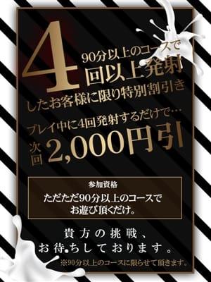 4回発射で2000円OFF
