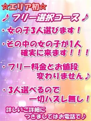 ☆フリー選択コース☆【エリア初イベント♪】