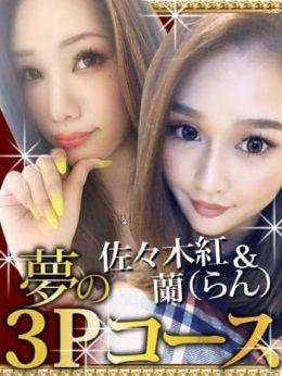 3Pコース蘭(らん)&佐々木紅 | 痴女&SM CLUB EMBASSY - 高松風俗