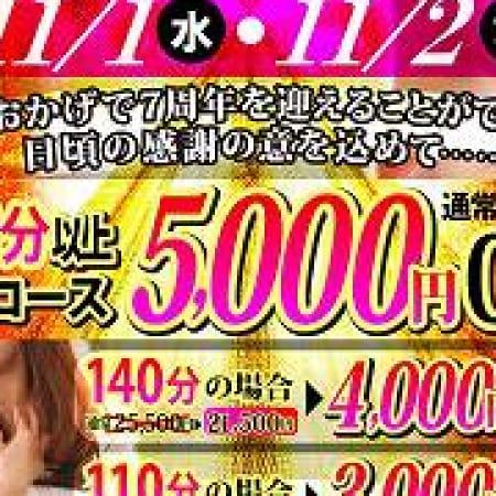 「完熟ばななグループ7周年イベント♪」11/02(木) 09:00   完熟ばなな 千葉のお得なニュース