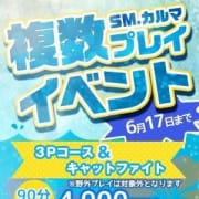 「3P・キャットイベント開催!」06/09(土) 15:02   プライベート SMクラブ carma1のお得なニュース