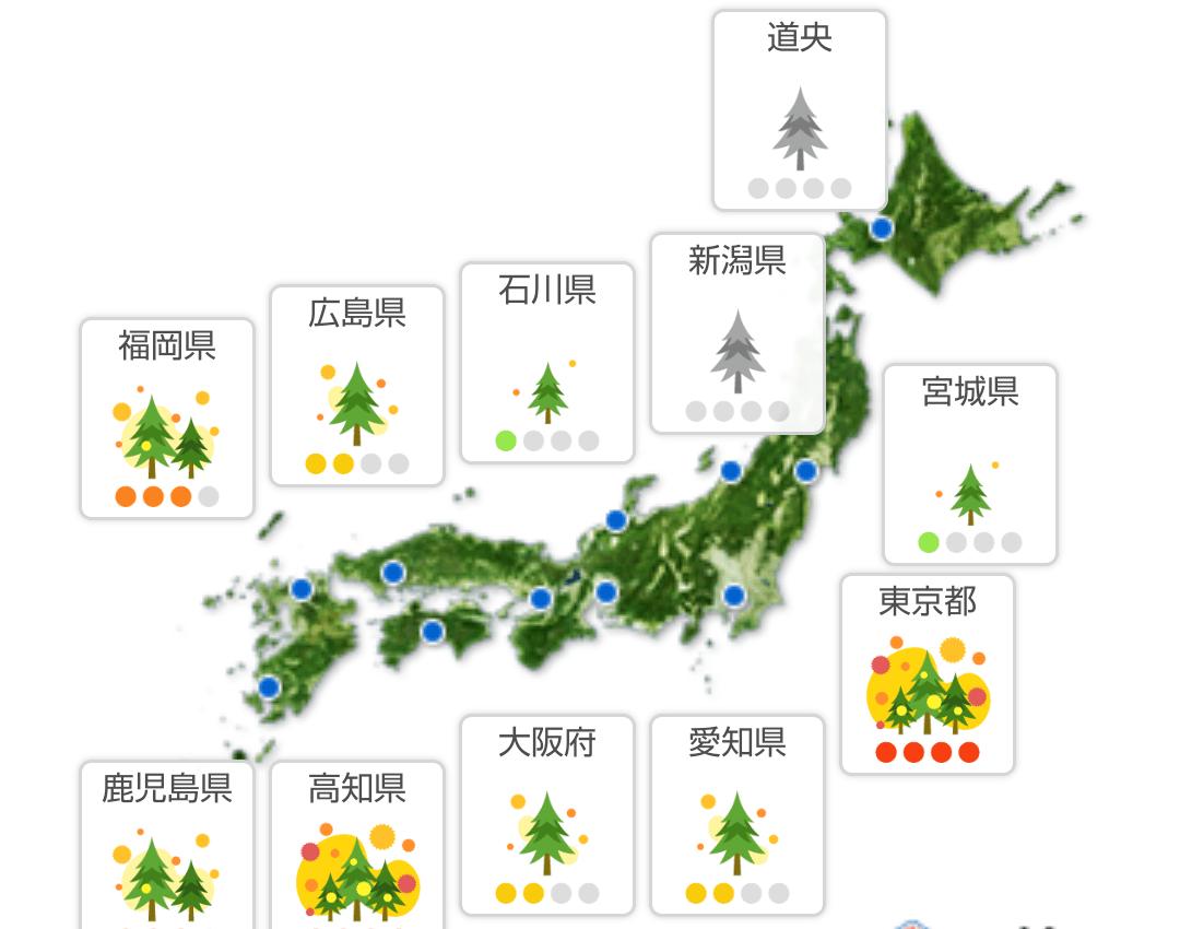 「花粉~(*_*)」02/23(02/23) 10:12   なつみの写メ・風俗動画