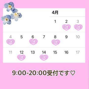 「4月前半の予定」03/31(03/31) 19:52   ヒマリの写メ・風俗動画