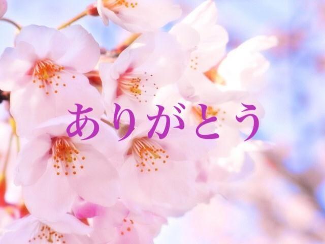 「ありがとう」04/13(04/13) 07:50 | 桜の写メ・風俗動画