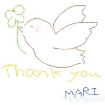 「Thank You゚+(人・∀・*)+。♪」04/16(04/16) 20:47 | まりの写メ・風俗動画